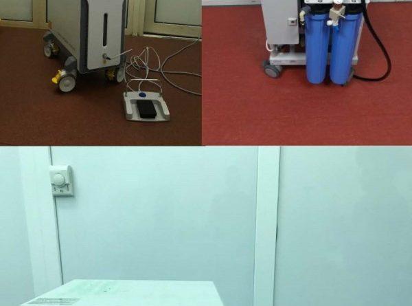 Institutul de Urologie a fost dotat cu trei echipamente medicale noi