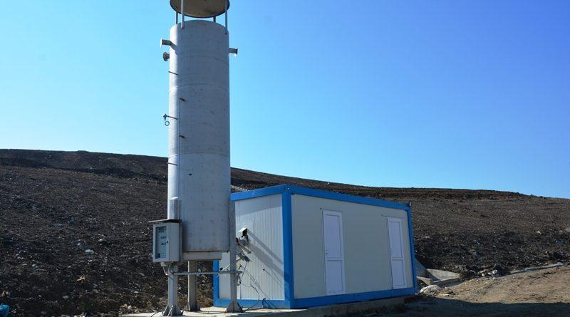 Depozitul de deșeuri de la Pata Rât are un sistem de degazare activă nou