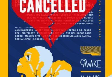 A patra ediţie a festivalului Awake este oficial anulată