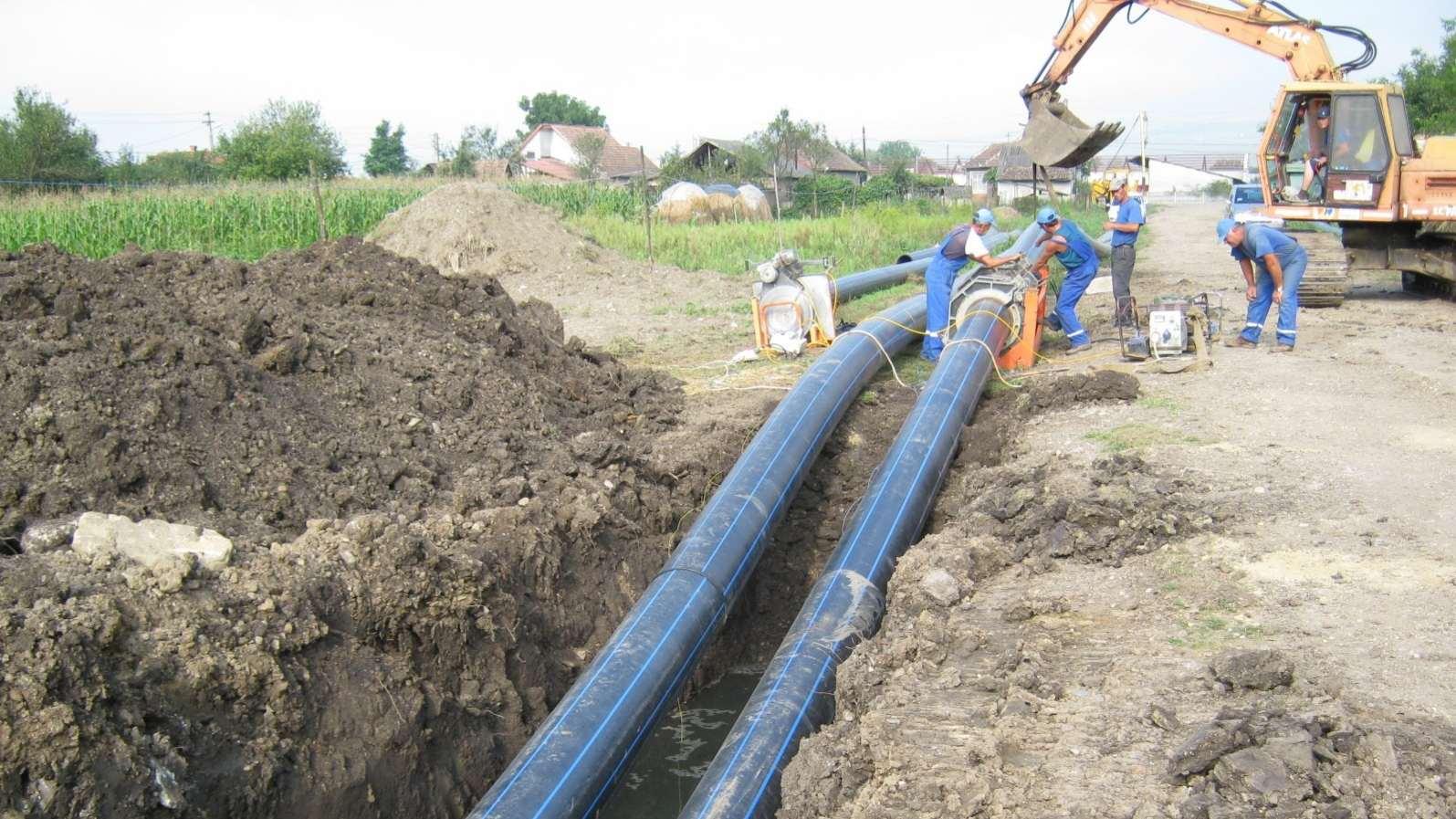 infrastructura de apă Gherla
