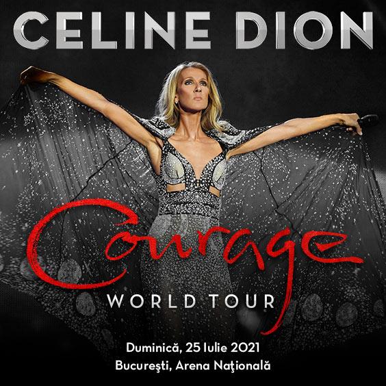 Concertul Celine Dion de la București a fost reprogramat