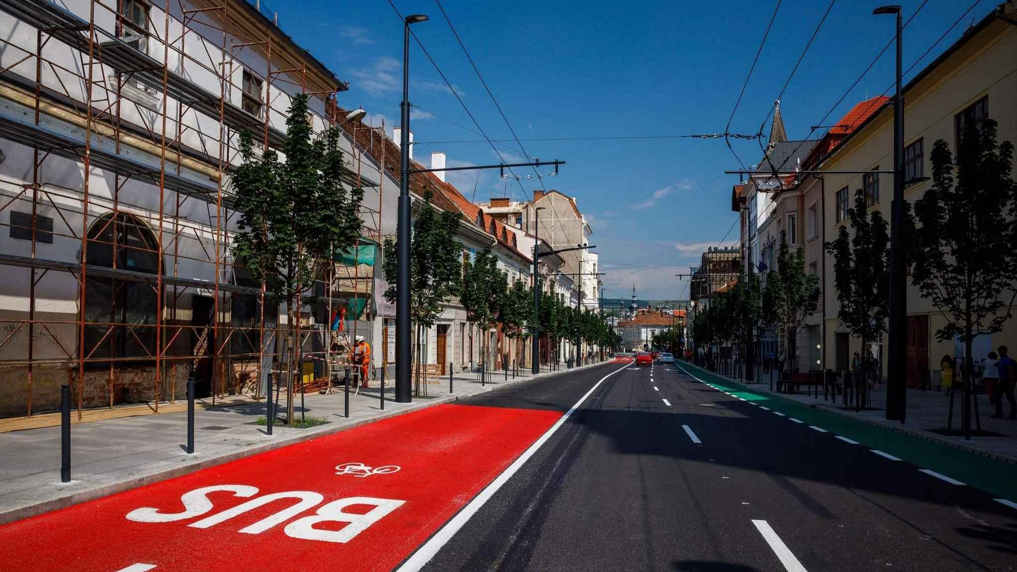 Strada Regele Ferdinand a fost modernizată cu fonduri europene; urmează și alte locații din oraș