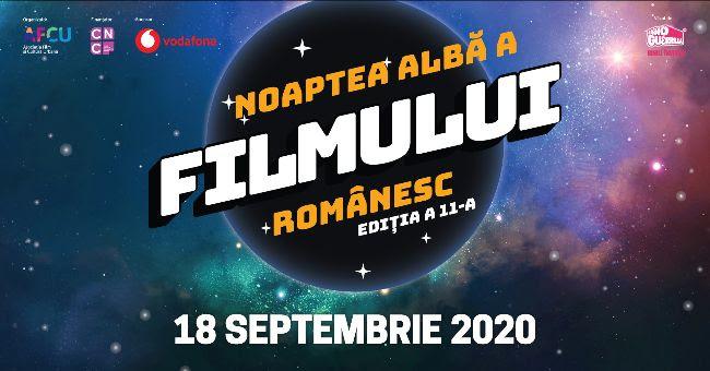 Noaptea Albă a Filmului Românesc 2020; Program & bilete