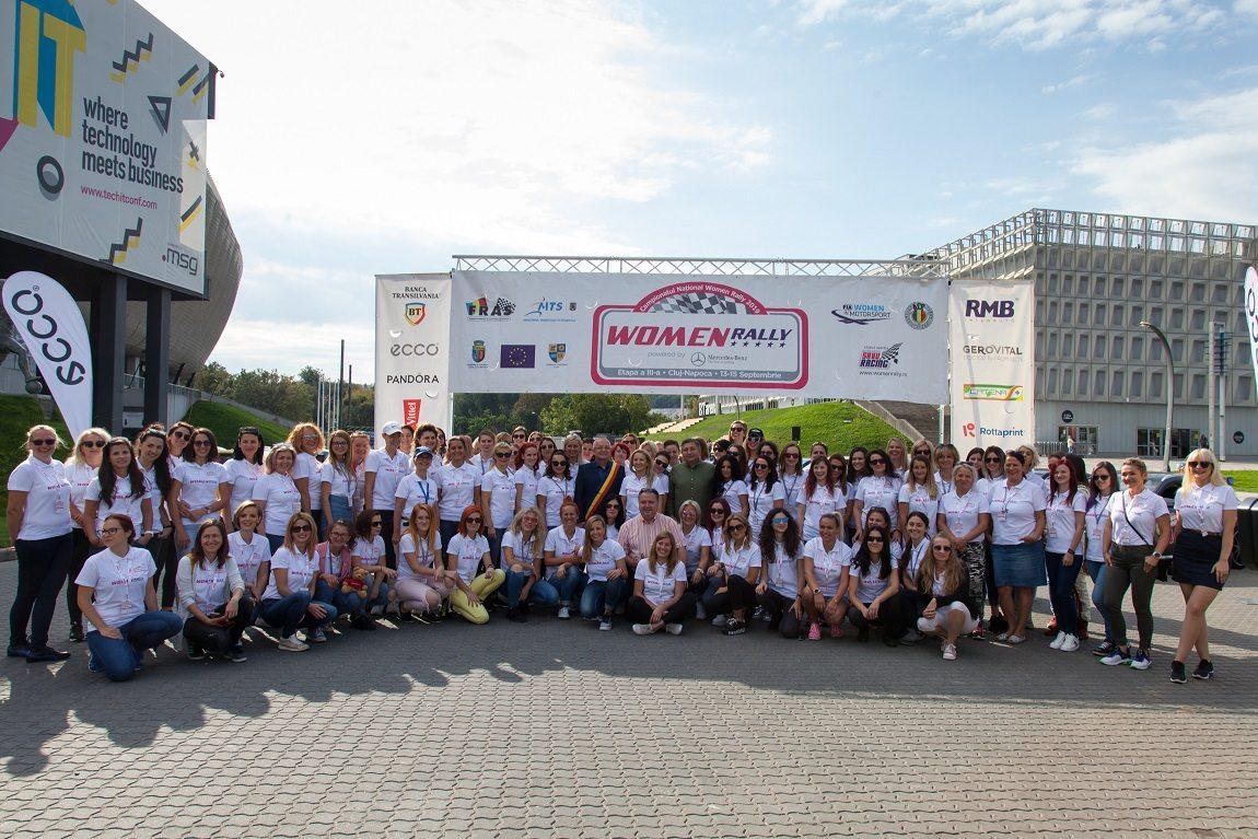 Record absolut cu 80 de concurente la Campionatul Național Women Rally