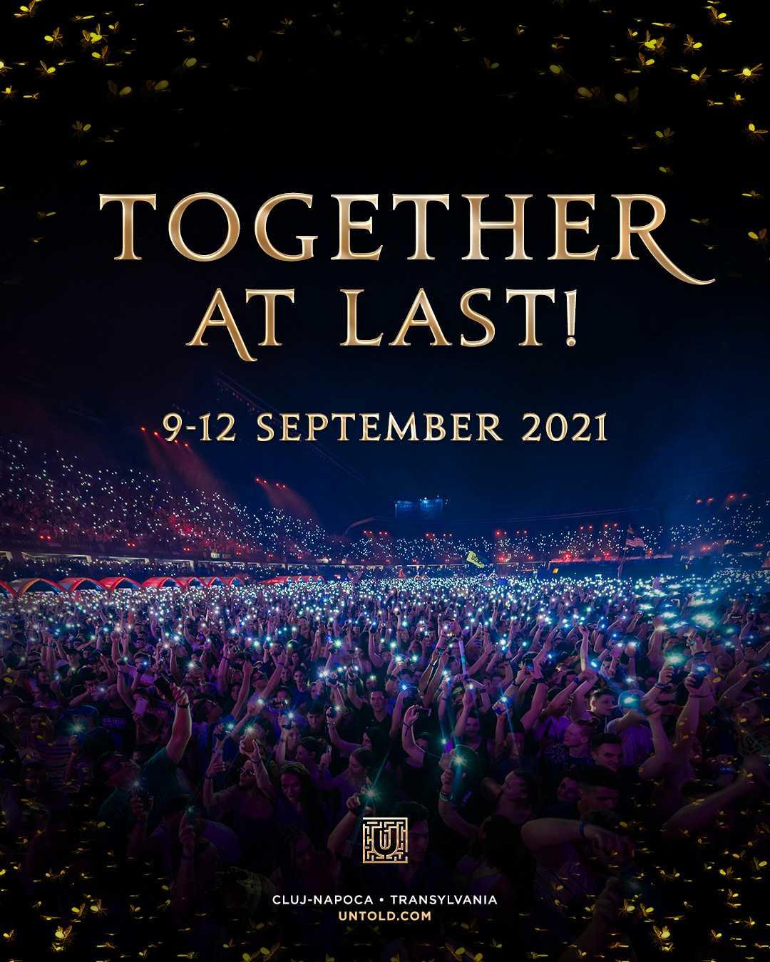 Este oficial! Untold se va organiza în perioada 9 – 12 septembrie 2021