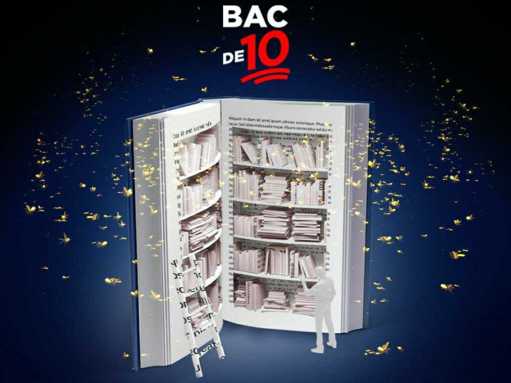 Campania BAC DE 10 motivează absolvenții de liceu și în 2021