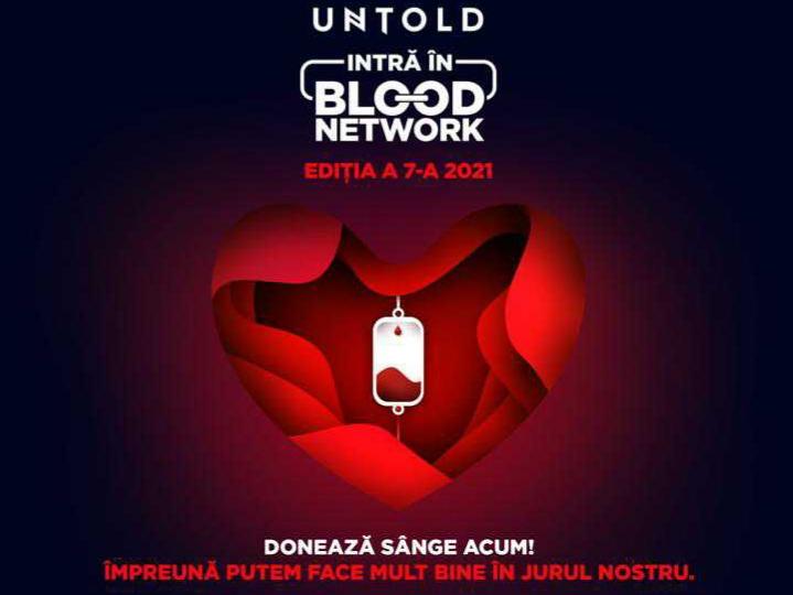 Donează sânge și mergi în acest an la festivalul UNTOLD