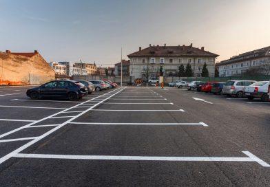 Parcometre noi și aplicație, pentru parcări din zona centrală
