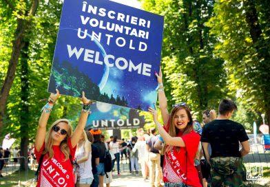 UNTOLD caută peste 2.000 de voluntari pentru ediția din acest an