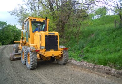 Au fost demarate lucrări de îmbunătățire a infrastructurii DJ 191D