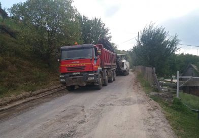 42 de kilometri de drum județean au intrat în lucrări de întreținere
