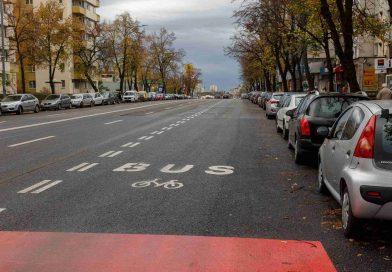 Noi benzi dedicate transportului în comun, pe Calea Florești