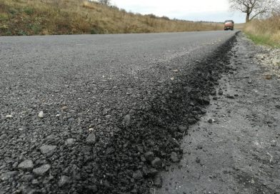 A fost finalizată prima etapă de asfaltare pe drumul județean DJ 108N