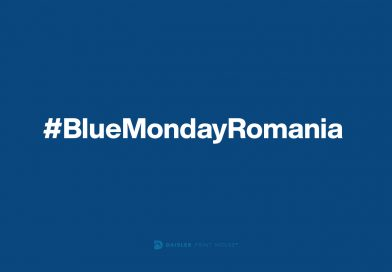 #BlueMondayRomania a ajuns la cea de-a treia ediție
