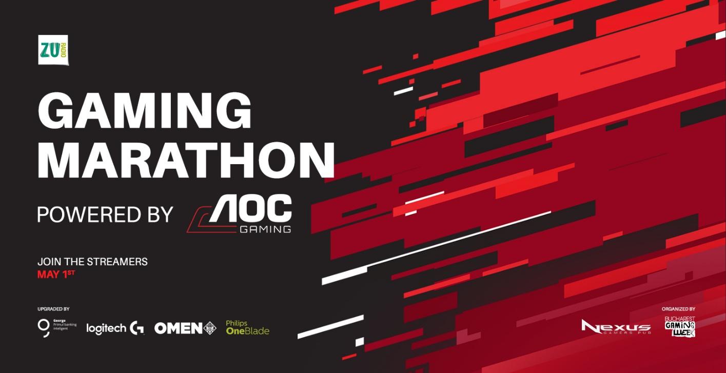 Gaming Marathon 2020 de 1 mai