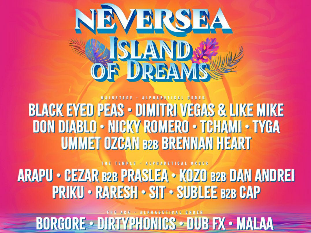 Artistul hiturilor de sute de milioane de vizualizări, Tyga, reconfirmă prezența la festivalul Neversea, în 2021