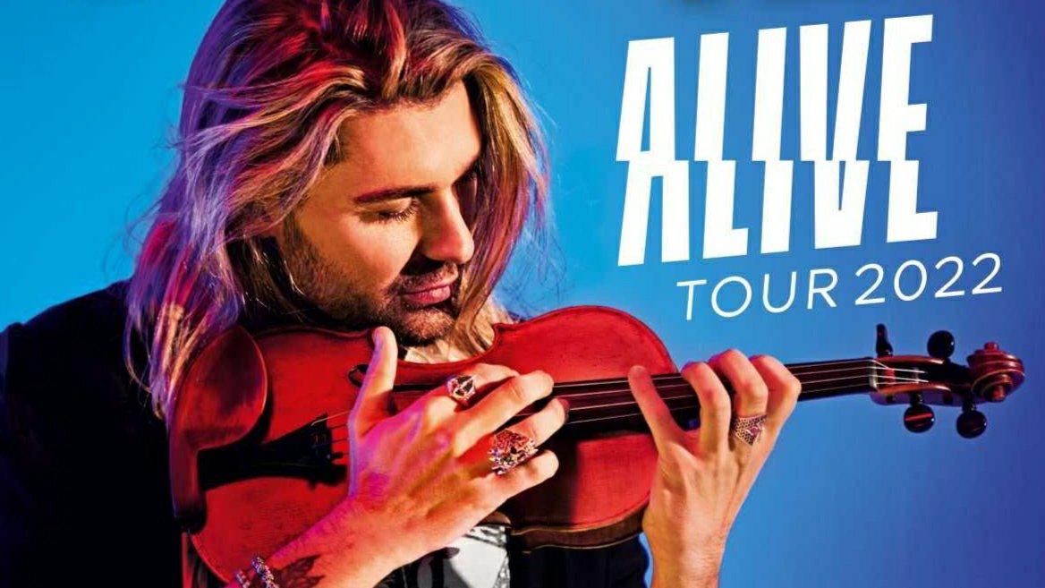 "Violonistul David Garrett revine în 2022 cu turneul ""ALIVE"""