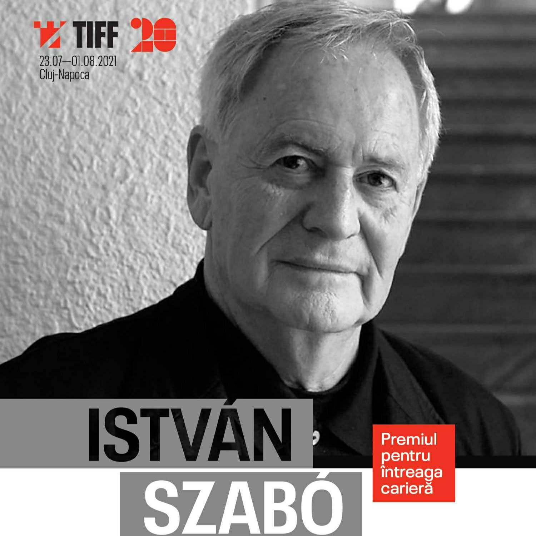 István Szabó, regizorul maghiar premiat cu Oscar, vine la TIFF 2021